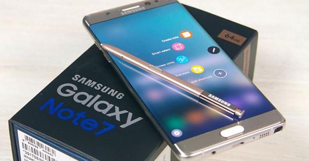 'Samsung Galaxy Note 7' Yeni İsimle Satışa Sürülüyor!