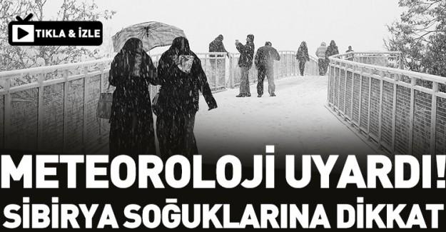 Sibirya Soğuklarına Dikkat