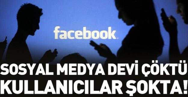 Sosyal Medya Devi Çöktü!