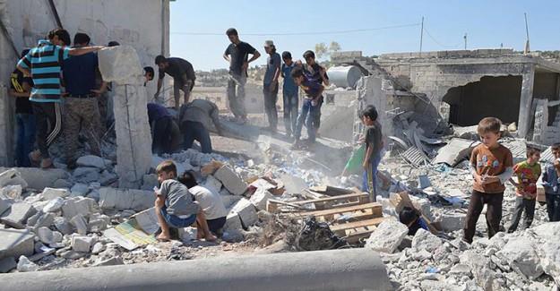 Suriye'de Acı Bilanço! 80 Kişi Öldü