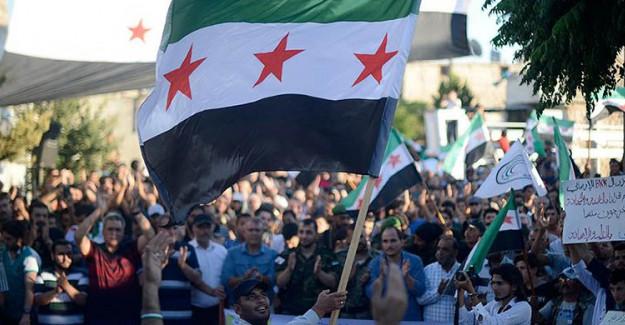 Suriye'de PYD/PKK Protestosu