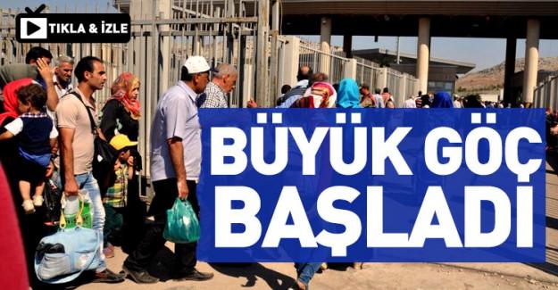 Suriyeliler Ülkelerine Geri Dönüyor!