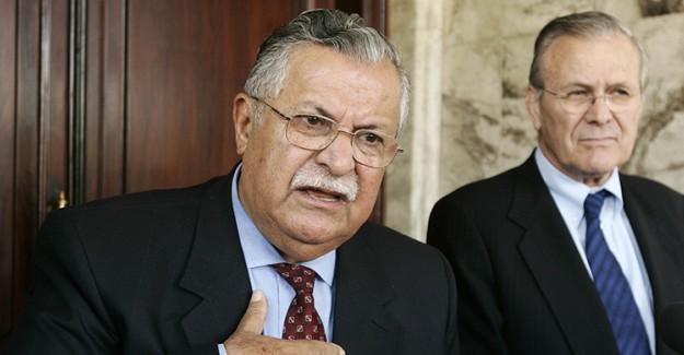 Talabani'ye Cenaze Töreni Düzenlendi