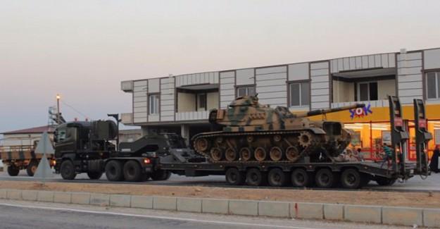 Tanklar Suriye Sınırına Ulaştı!