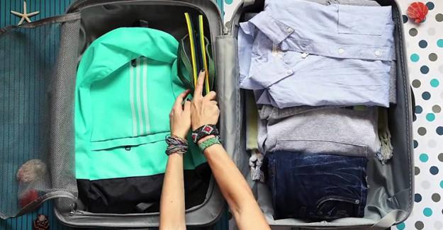 Tatil Bavulu Hazırlamanın Püf Noktaları!