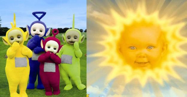 Teletabiler'in 'Güneş'in İçinde Gülen Bebeği' Bakın Şimdi Ne Halde!