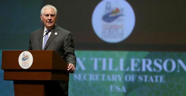 Tillerson'dan 15 Temmuz Mesajı