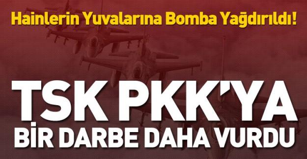 TSK Açıkladı! PKK'ya Bir Darbe Daha Vuruldu