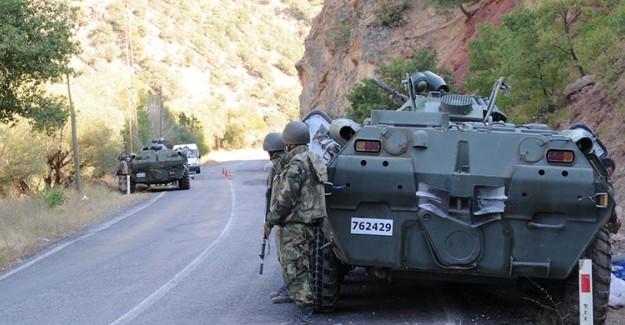 Tunceli'de Asker PKK'nın Tepesine Bindi! 8 Ölü