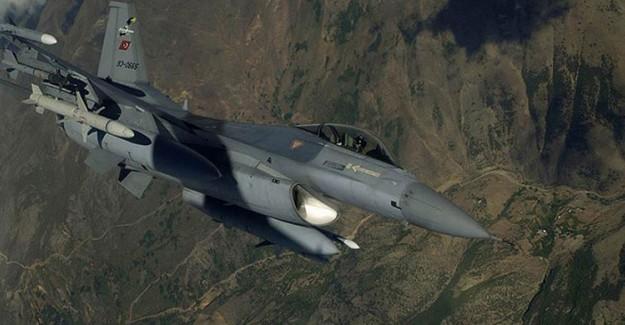 Türk Askeri PKK'nın İnlerini Bombaladı!