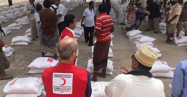 Türk Kızılayı Yemen'de Yardımlarına Devam Ediyor!