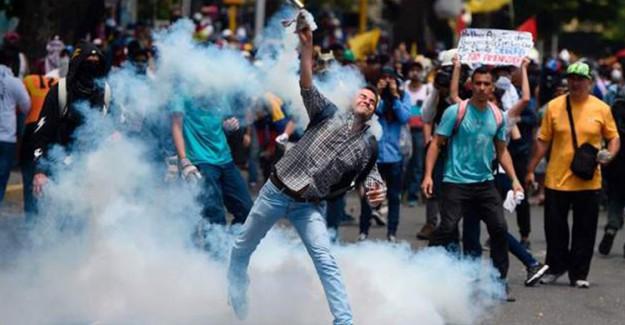 Venezuela'daki Protestolarda 14 Kişi Daha Öldü!
