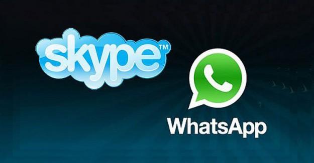 WhatsApp ve Skype Yasakladı!