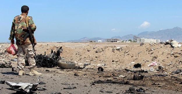 Yemen'e Giden Yardım Tırlarına Bombalı Tuzak
