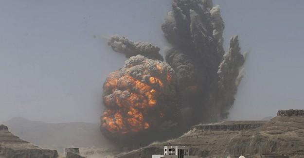 Yemen'e Hava Saldırısı! 13 Kişi Hayatını Kaybetti