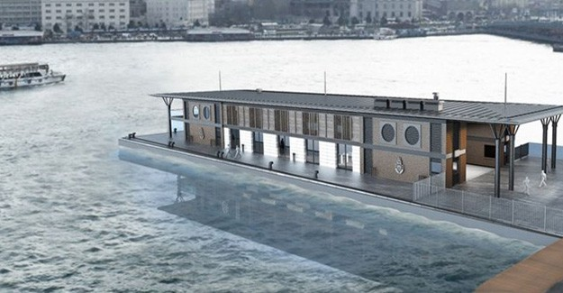 Yeni Karaköy İskelesi İşte Böyle Olacak