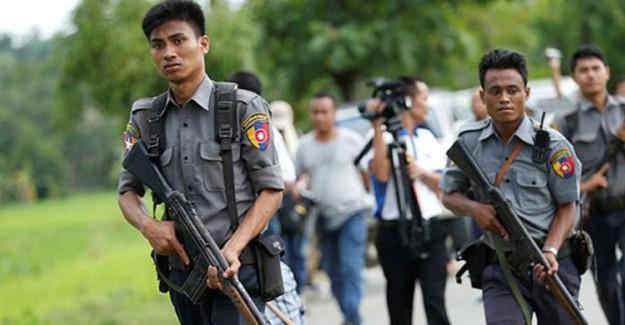 Yine Katil İsrail! Myanmar'daki Katillere Silahları İsrail Veriyor