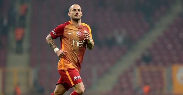 Yönetim Kararını Verdi! Wesley Sneijder'in Bileti Kesildi