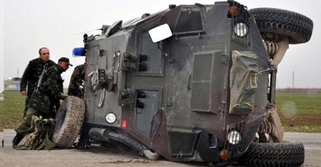 Zırhlı Araçlar Devrildi: Çok Sayıda Polis Yaralı!