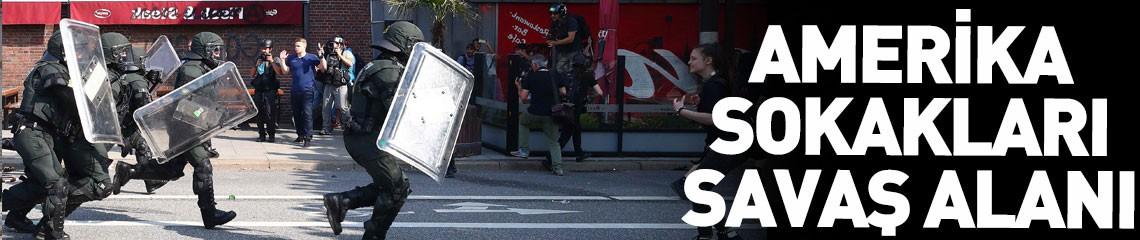 ABD'de Şiddet Eylemleri Devam Ediyor! Olaylar Bu Defa Phoenix'e Sıçradı