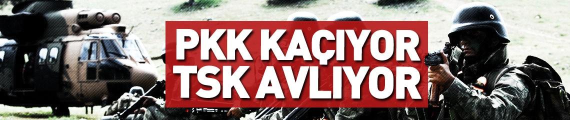 PKK'da Çözülme Devam Ediyor! 6 PKK'lı Teslim Oldu