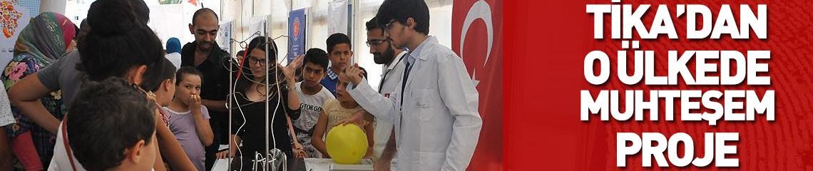 TİKA Tunus'ta Bilim Sarayı İnşa Ediyor