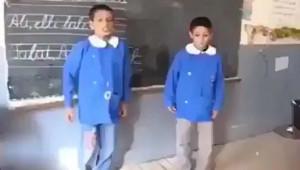 İki Küçük Arkadaş Öyle Bir Düet Yaptı ki...