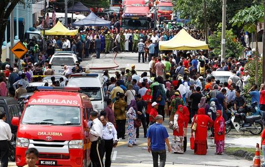 Malezya'da Dehşet! 24 Çocuk Öldü