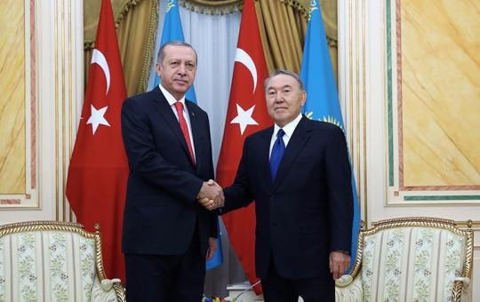 Reis-i Cumhur Kazakistan'dan FETÖ Mesajı Verdi