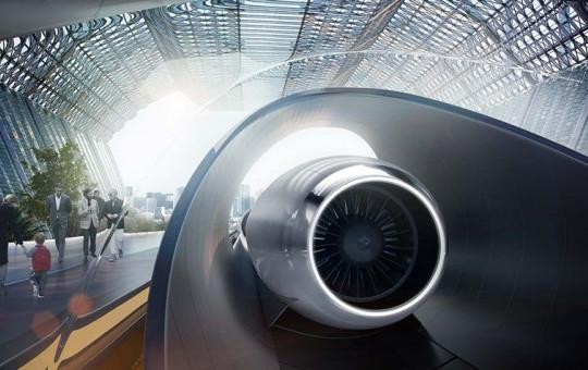 Yeni Ulaşım Sistemi Hyperloop