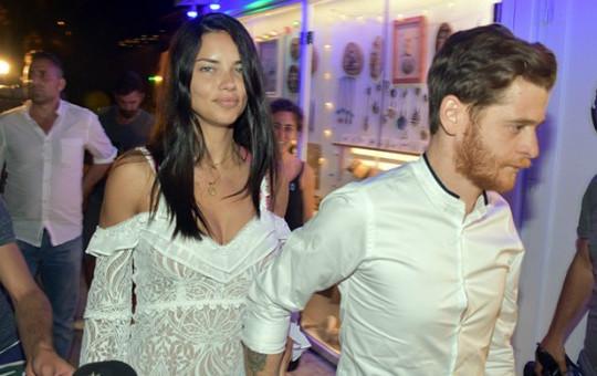 Adriana Lima ile Metin Hara Aşkı Sokaklara Taştı! Kimseyi Umursamadılar.