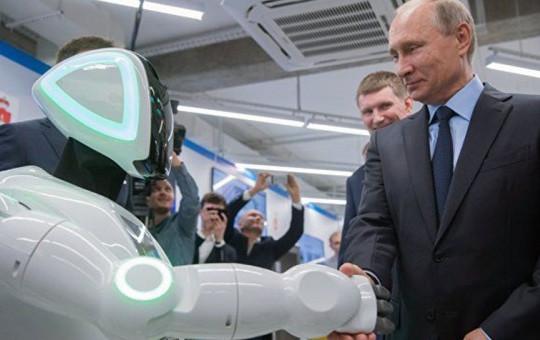 Putin'i Dehşete Düşüren O Robot!