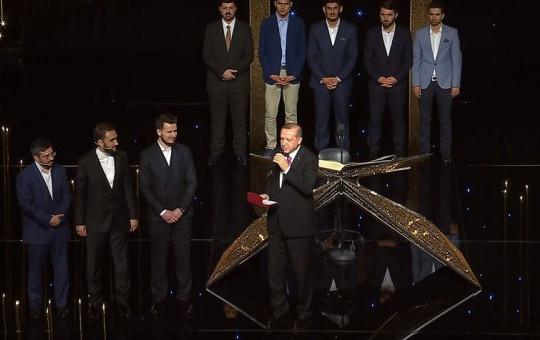Cumhurbaşkanı Erdoğan'dan Kur'an Tilaveti Yarışmasına Sürpriz Ziyaret!