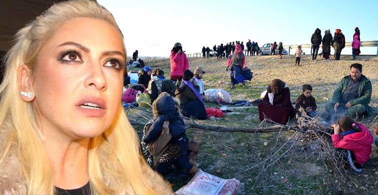 Hadise Mültecilerin Yaşadığı Zor Duruma İsyan Etti - 1