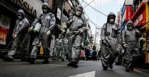 Güney Kore'de Son 50 Günün En Yüksek Vaka Artışı - 1