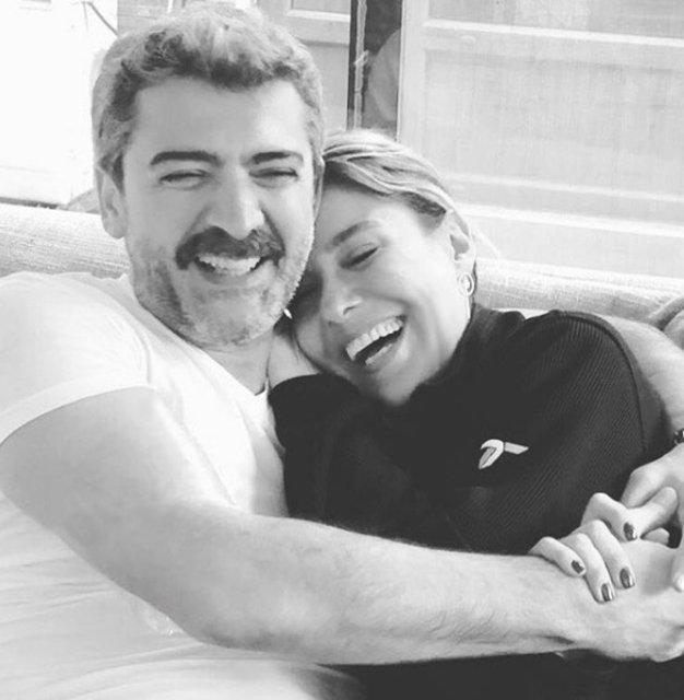 Gülben Ergen ile Sevgilisi Burak Törer Sosyal Medyada Aşka Geldi - 1