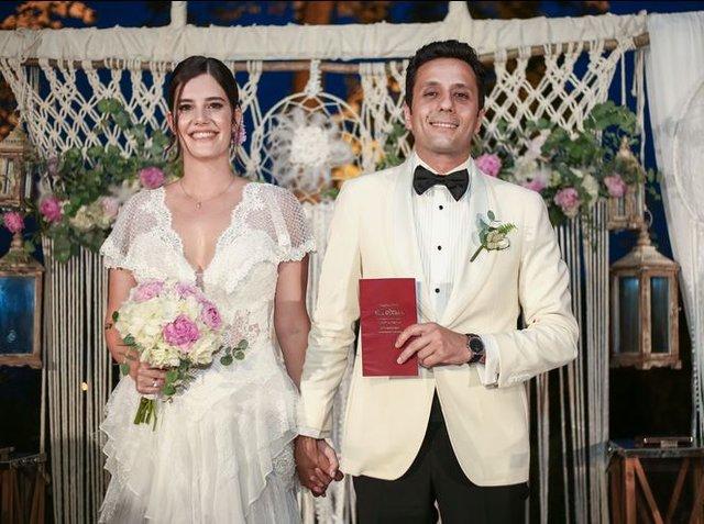 Müjgan Ferhan Şensoy ve Cem Öget'in Düğününe Ünlü Akını - 1