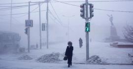 Hayatın Eksi 64 Derecede Devam Ettiği Yakutsk Şehrinden İlginç Kareler