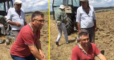 Çiftçi Tarlasını Sürerken Bulduğundan Ötürü Ekipleri Aradı
