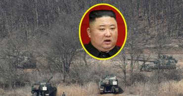 Tanklar Görününce Kuzey Kore Lideri Dondu Kaldı!