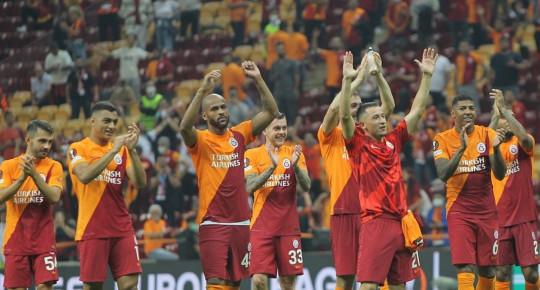 Galatasaray'ın Lazio Maçındaki İstatistikleri Dikkat Çekti!