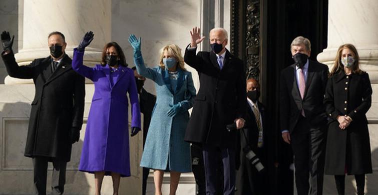 ABD'deki Yemin Törenine Kıyafetlerin Renk Tercihleri Damga Vurdu!