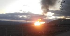 Türkiye-İran Sınırında Doğal Gaz Patlaması