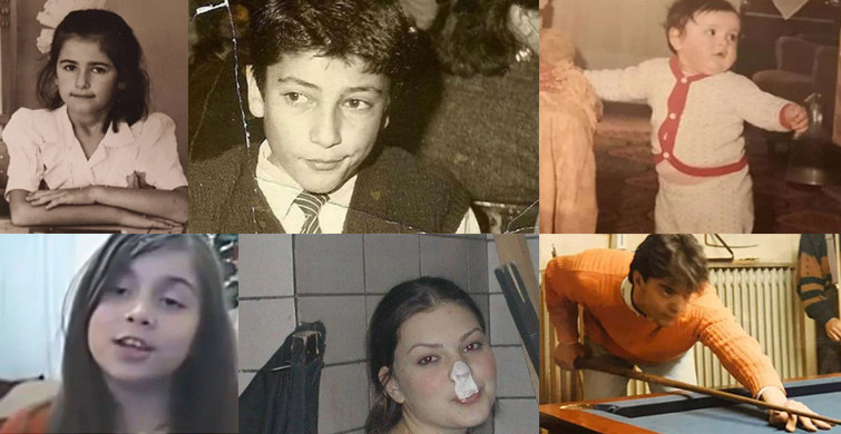 Bugünün Ünlülerinin Sıradan İnsanlarken Çektirdikleri 'Bunlarda Ünlü Olmuş Ya' Dedirten Fotoğraflar