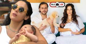Cansu Tosun'un Suda Doğum Yaptığı Anlara Ait Fotoğraflar Ortaya Çıktı