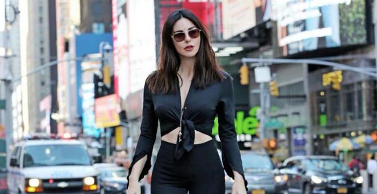 Defne Samyeli New York Sokaklarında Boy Gösterdi!
