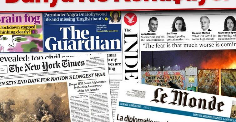 Dünya Basınında Bugün Paylaşılan Haberler