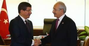 Kemal Kılıçdaroğlu, Davutoğlu'nu Ziyaret Etti!