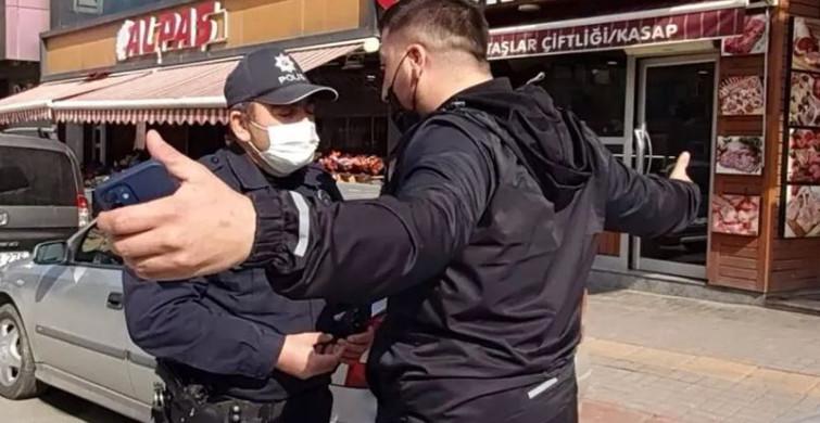 Kurallara Uymadı, Ceza Yazınca Polisin Üstüne Yürüdü!