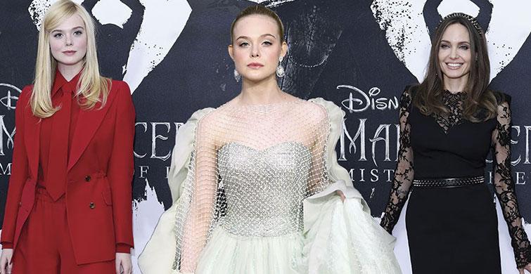 Maleficent:Mistress of Evil Filmi Galasından En Şık Görünümler